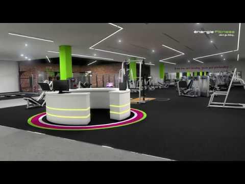 énergie Fitness Bahrain - Flythrough Animation