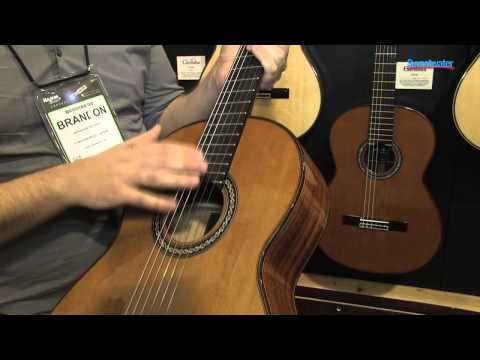 Cordoba C9 Dolce Luthier Series Nylon-string Guitars Overview - Sweetwater at Winter NAMM 2013