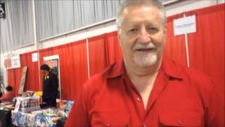 Larry Kenney voice of Lion-O from Thundercats at RetroCon 2014