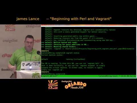 Beginning with Perl and Vagrant (and Ansible)