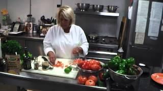 Halibut With Tomato Caper Sauce