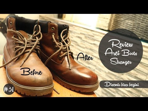 #31 Review Sepatu Boots untuk Riding : Arei Boots Stranger