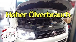 Hoher Ölverbrauch beim VW T5 2.0 TDI Bi Turbo Motorcode CFCA