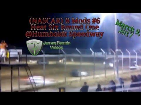 B Mod #6, Round 1 Heat 6, Thursday Night, Humboldt Speedway, 2017