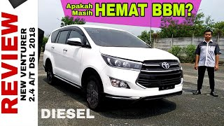 Explorasi Toyota NEW VENTURER Diesel Tetap Hemat BBM Toyota Indonesia