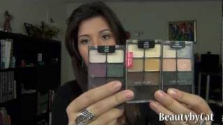wet n wild eyeshadows palette review