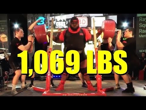 RAY WILLIAMS | 1,069 LBS WORLD RECORD SQUAT | (3/3/2018)