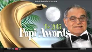 ESPN's Highly Questionable - The 2015 Papi Awards