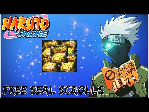 How To Get Seal Scrolls For Free? | Naruto Online