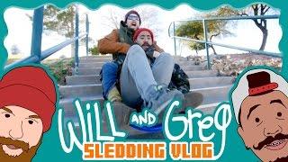 Will & Greg Show: Urban Sledding Vlog (Ep. 5)