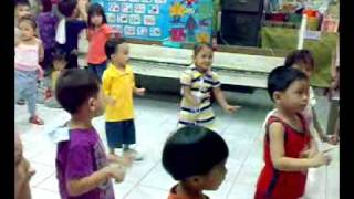 dance practice of my lovely daughter (sinabawang gulay)