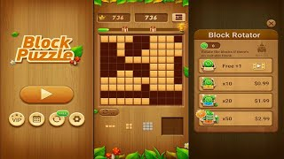 Wood Block Puzzle (by Beetles Games Studio) - puzzle game for Android and iOS - gameplay. screenshot 2