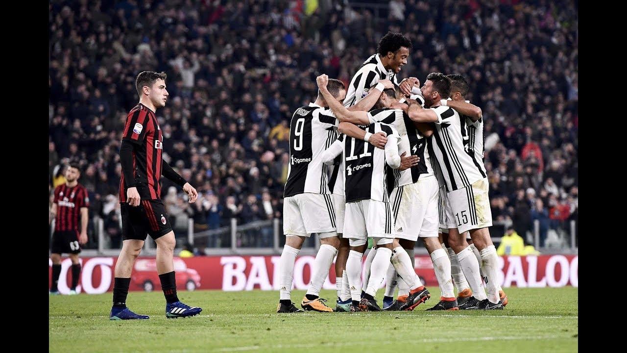 Juventus - Milan 4-0 (09.05.2018) Finale Coppa Italia. - YouTube