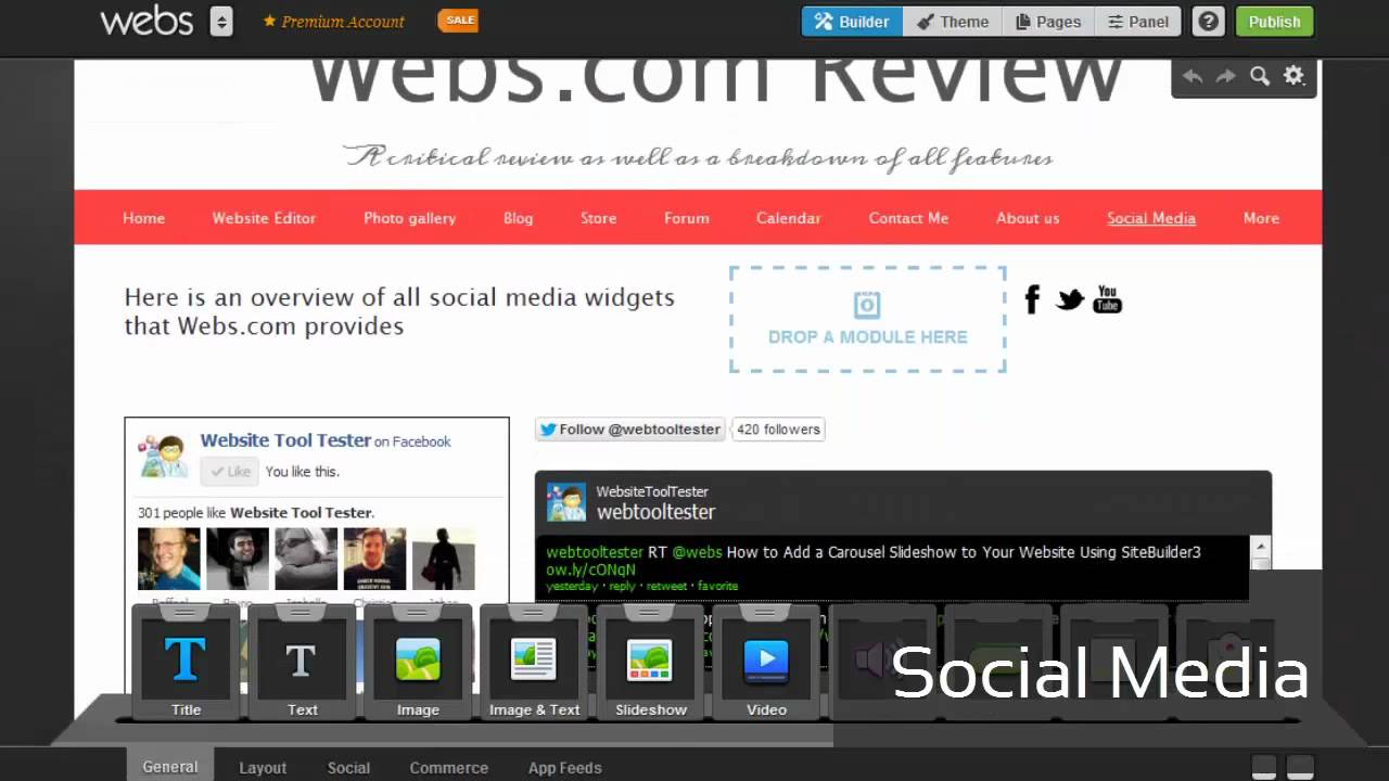webs review a detailed look into the website builder