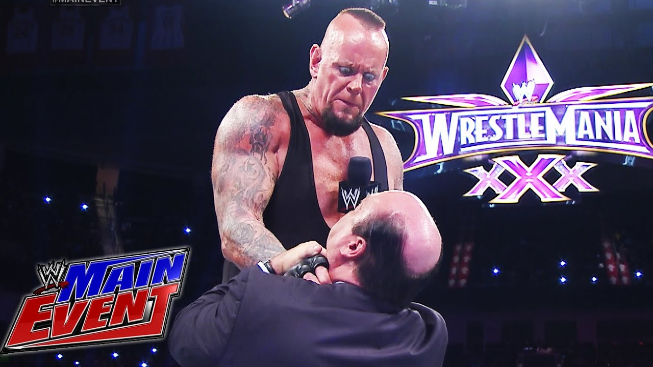 The Undertaker sends m...