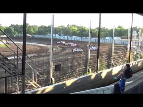 LMSS TOURING SERIES HEAT 2 RAPID SPEEDWAY JULY 19,2016