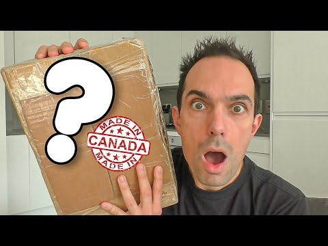OPENING ERIC'S MYSTERY BOX (Canadian Snacks Taste Test)