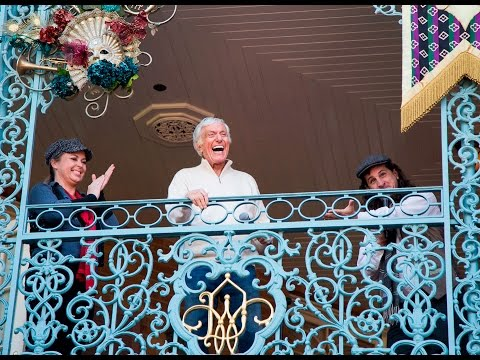 Disney legend Dick Van Dyke celebrates his 90th birthday at Disneyland