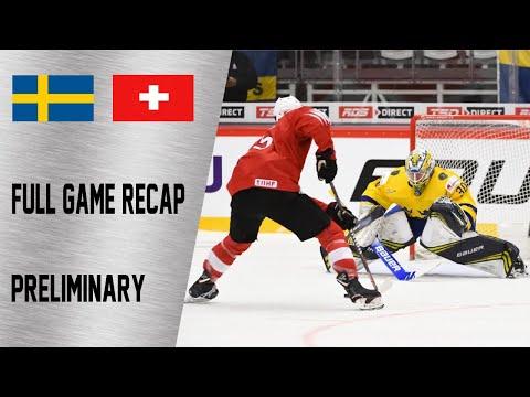 Sweden vs Switzerland Full Game Highlights   December 28, WJC 2020