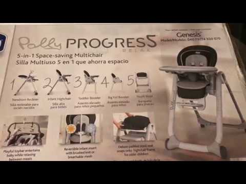 Chicco High Chair Polly Progres5 Relax