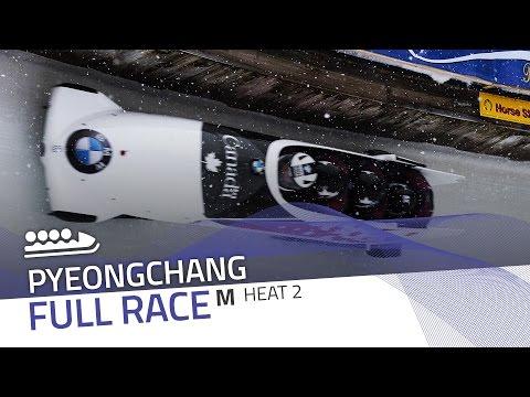 Pyeongchang | BMW IBSF World Cup 2016/2017 - 4-Man Bobsleigh Heat 2 | IBSF Official