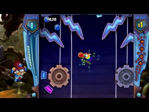 Peggle 2: Electrifying Gnorman's Gneighborhood Trials 2-10