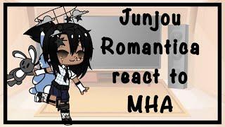 |Junjou Romantica reacts to MHA|(Original) Part 2(Read Description)