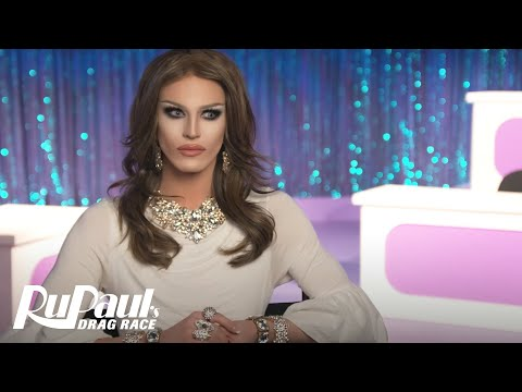 Aquaria Slays as First Lady Melania Trump: The Perfect Snatch | RuPaul's Drag Race Season 10