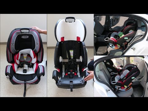 Graco 4ever Review Harness Adjustment And Installation Step By Step Youtube