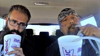 FAST DRINKING THE SONIC SPICY REAPER MARGARITA W/ FREAKEATING