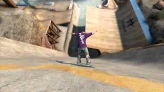 skate 3 world records: longest powerslide 176.9 feet