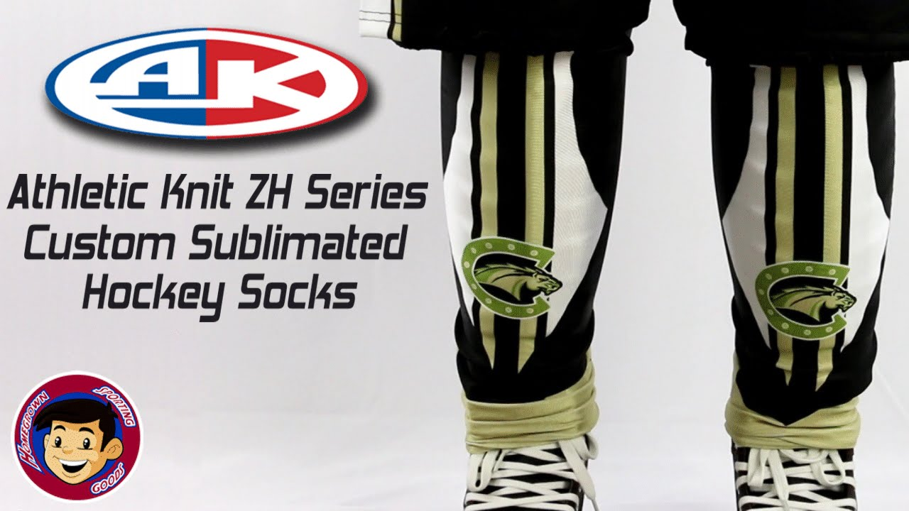 Athletic Knit ZH700 Custom Sublimated Hockey Socks - Homegrown ...