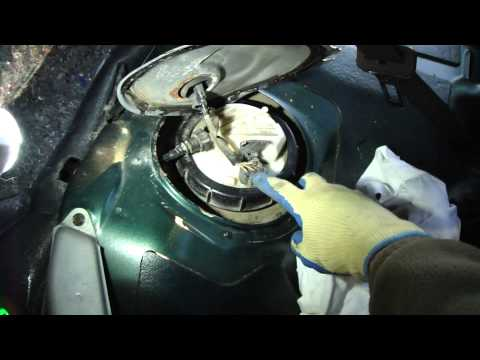 How to change fuel pump Toyota Corolla VVTi-engine. Years 2000 to 2015