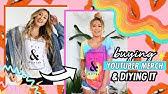 Buying YouTuber Merch &amp DIYing It #5!