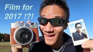 Fujifilm Instax Mini 90 Review - A film Camera in 2017, are you serious!?