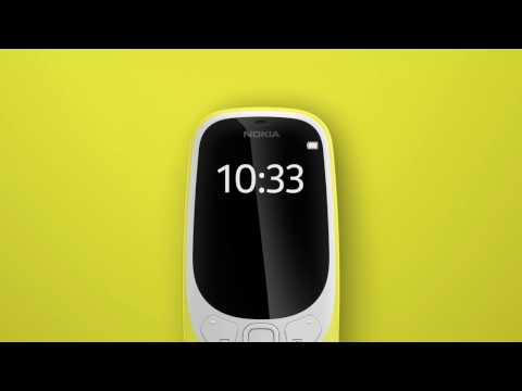 VIDEO: The New Nokia 3310