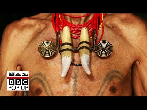 "Headhunter: ""My tattoos signify the heads I've taken""- BBC News"