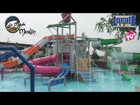 Inauguration Aquapark Le Monde de Merlin