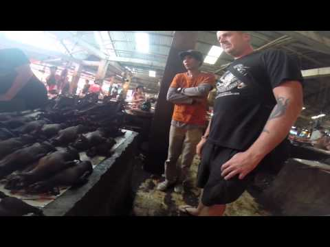 Tomohon meat market... North Sulawesi Highlands