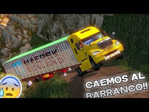 CAEMOS AL BARRANCO CARRETERAS EXTREMAS!!   AMERICAN TRUCK SIMULATOR   NUEVO MAPA DE COLOMBIA!!!