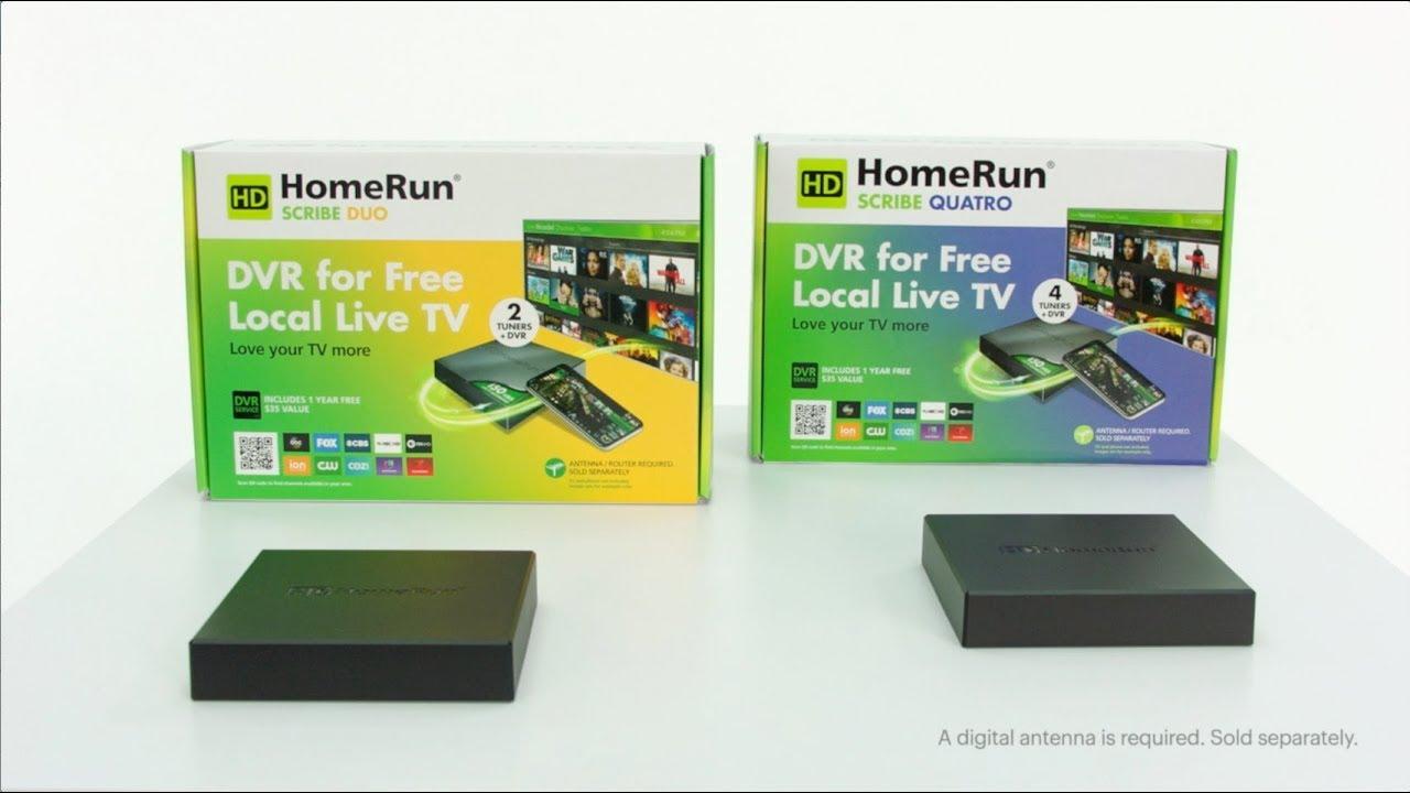 SiliconDust HDHomeRun Scribe Duo OTA Enregistreur DVR