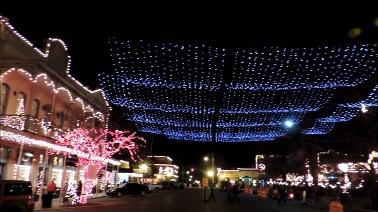 Canton lights in canton MS. - YouTube