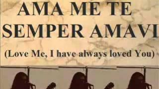 AMA ME TE SEMPER AMAVI SpiritLife Church