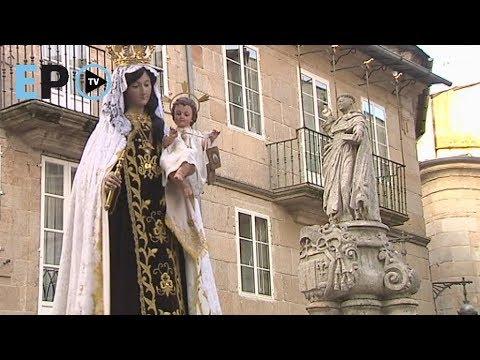Lugo honra a la Virgen del Carmen en una concurrida procesión