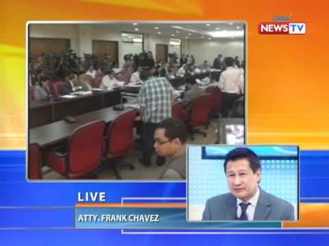 News to Go - Howie Severino interviews Atty. Frank Chavez on News to Go 3/7/11