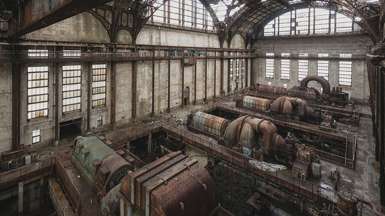 abandoned power station used as transformers set youtube
