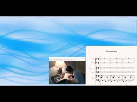 Cumbanchero, Ruben Gonzalez, piano; Orlando 'Cachaito' Lopez, bass; Sibelius sheet