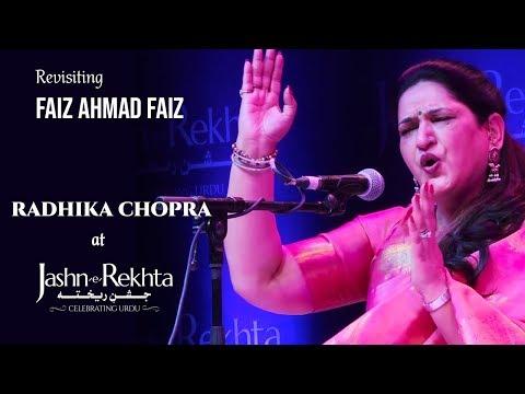 Revisiting Faiz Ahmad Faiz | Radhika Chopra & Danish Iqbal | Jashn-e-Rekhta 4th Edition