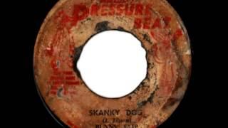 BUNNY FLIP ( Aka WINSTON SCOTLAND) - Skanky dog (1972 Pressure beat)