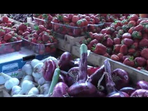 КРЫМ. Цены на продукты в 2019. Рынок в городе Саки